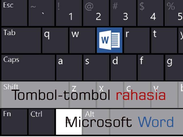 tombol rahasia microsoft word