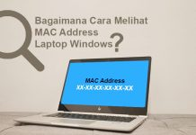Cara melihat MAC Address Laptop
