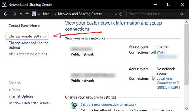 Melihat MAC Address WiFI yang terhubung