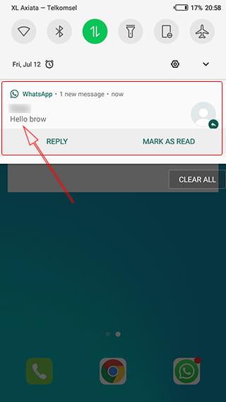 membaca chat wa tanpa diketahui
