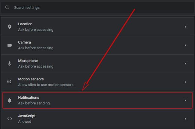 Mengatur notifikasi situs di Chrome agar tidak menampilkan iklan yang mengganggu