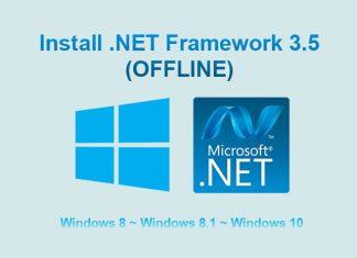 Download dan Install Microsoft .Net Framework 3.5