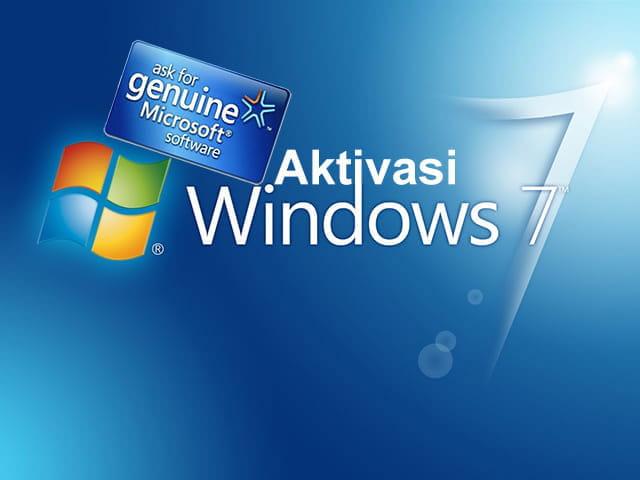 Cara aktivasi Windows 7 Ultimate 32 bit dan 64 bit permanen dan offline menggunakan Windows Loader