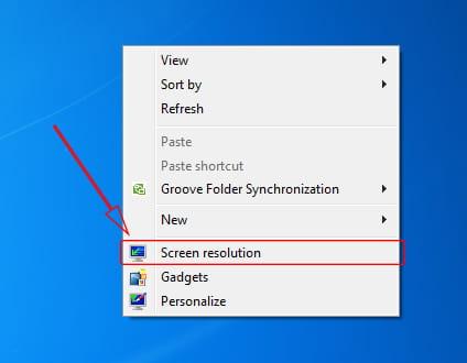 Mengubah tampilan proyektor melalui Laptop