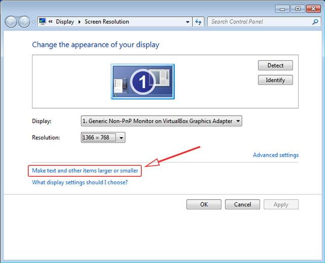 Mengganti DPI Windows 7 dan Windows 8/8.1