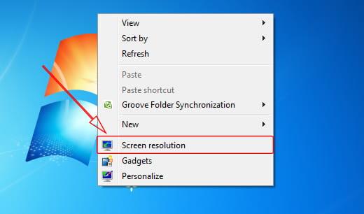 Cara mengubah resolusi monitor