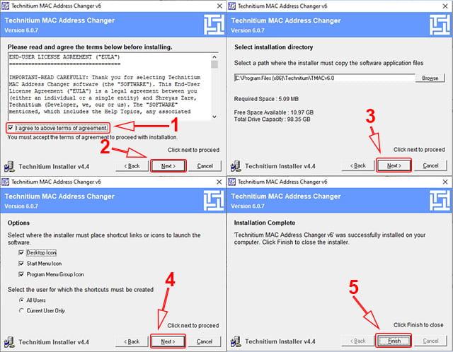 Cara Install TMAC di Windows
