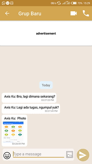 Membaca chat grup WA tanpa ketahuan menggunakan aplikasi GB Chat Offline for WhatsApp