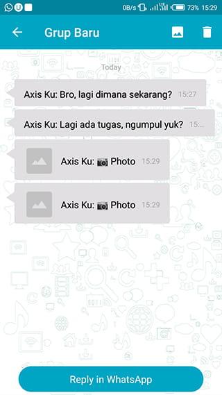 Menyimak percakapan grup wa tanpa ketahuan menggunakan aplikasi Unseen