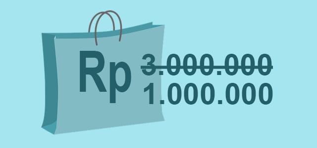 tips belanja online agar tidak tertipu : Jangan tergiur harga murah