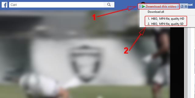 Menyimpan video facebook ke Laptop menggunakan IDM
