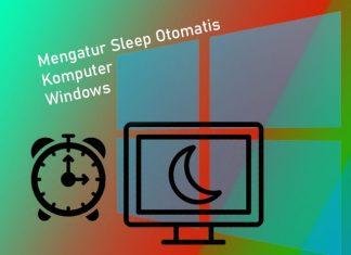 Cara mengatur sleep otomatis di Laptop Windows