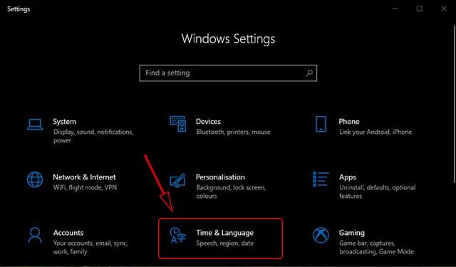 Cara mengatur waktu di Windows 10