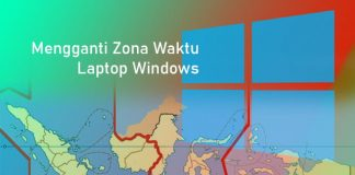 Cara mengganti zona waktu di Laptop Windows