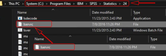 Cara aktivasi SPSS 24 di Windows