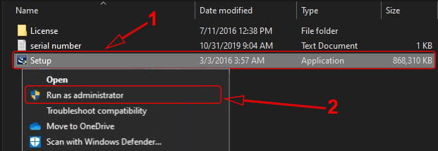 Menjalankan setup install SPSS 24 di Komputer Windows