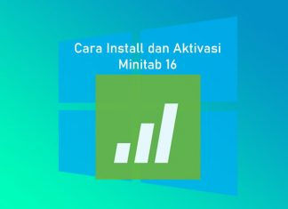 cara install minitab 16 di Laptop Windows