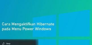 Cara mengaktfikan hibernate di Windows 10, 8, dan 7