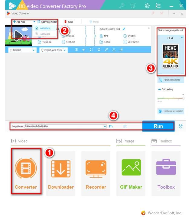 Cara konversi Video menggunakan software WonderFox