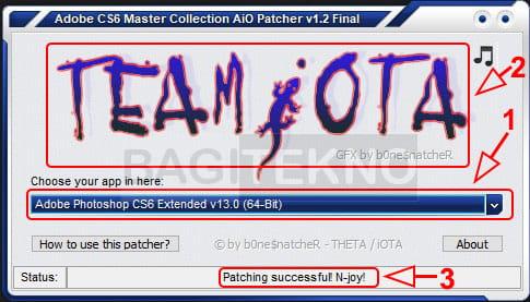 Cara aktivasi Adobe Photoshop CS6 menggunakan Patch