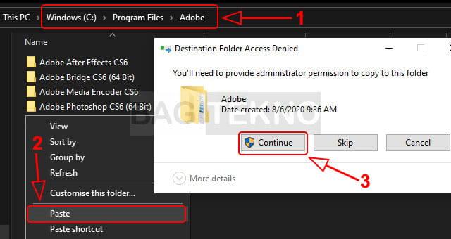 Copy patch Photoshop CS6