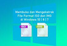 Cara membuka file iso dan img di Laptop Windows 10,8, dan 7