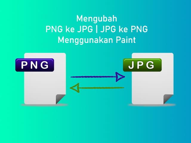 Cara mengubah file foto berfofmat PNG ke JPG