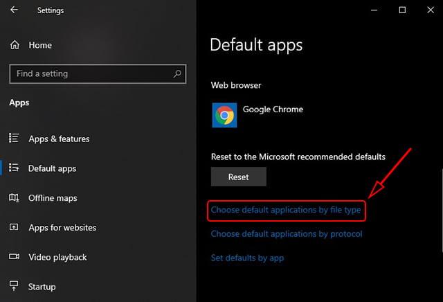 Mengganti app default berdasarkan tipe file