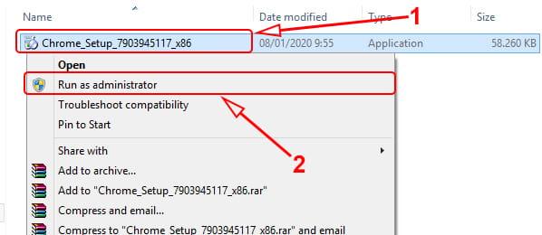 Cara install Google Chrome offline
