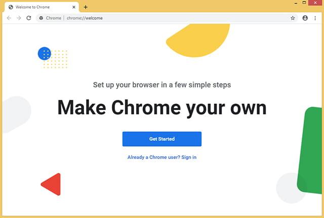 Google Chrome siap digunakan