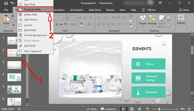 Cara duplikat slide powerpoint