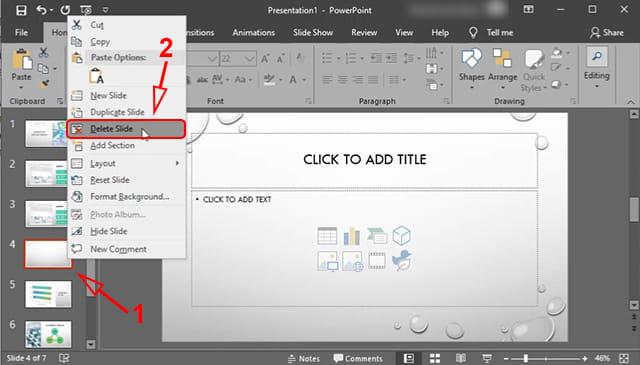 Cara menghapus slide powerpoint
