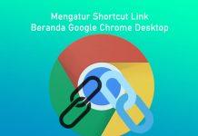 Cara mengatur shortcud beranda Google Chrome Desktop