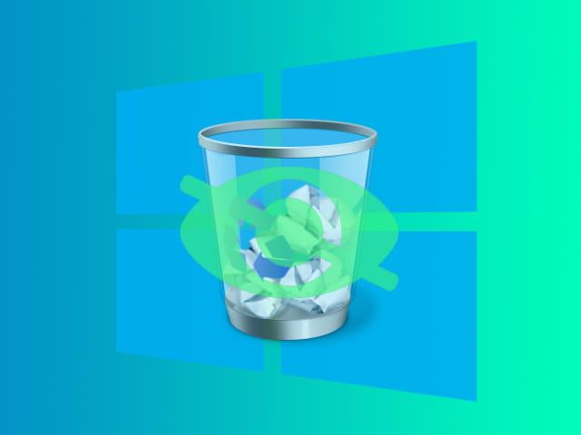 Cara menghilangkan recycle bin di desktop Windows