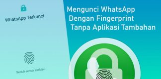Cara mengunci WhatsApp (WA) tanpa install aplikasi tambahan