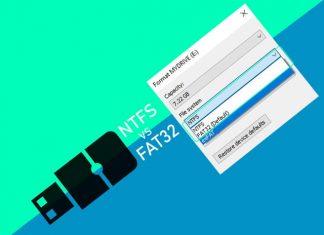 Perbedaan sistem file NTFS dan FAT32 pada hardisk dan flashdisk