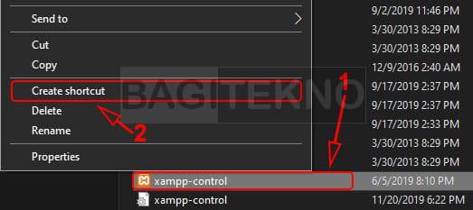 Cara membuat shortcut di desktop Windows