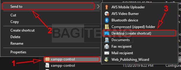 Membuat shortcut file