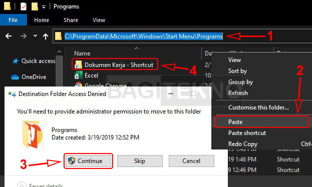 Add and subtract contents of Windows Start Menu