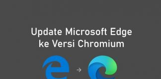 Cara update Microsoft Edge ke versi Chromium