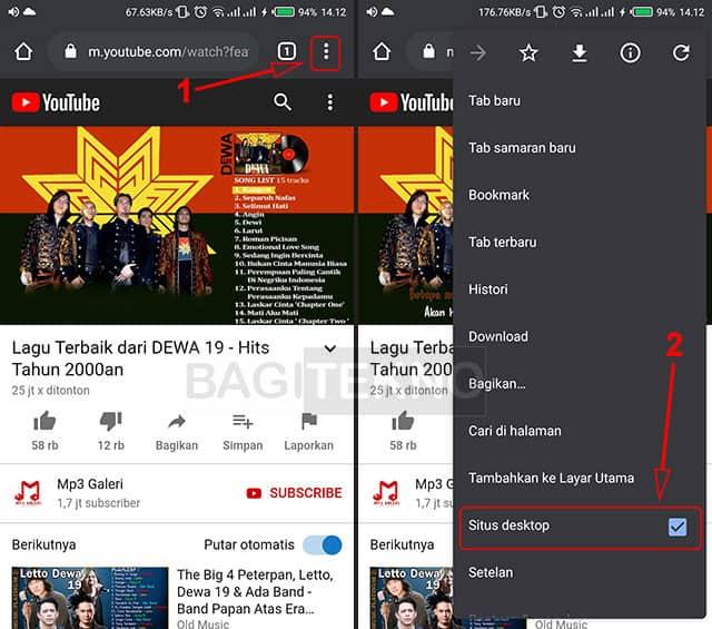 Memutar YouTube di Backgoround pada Android