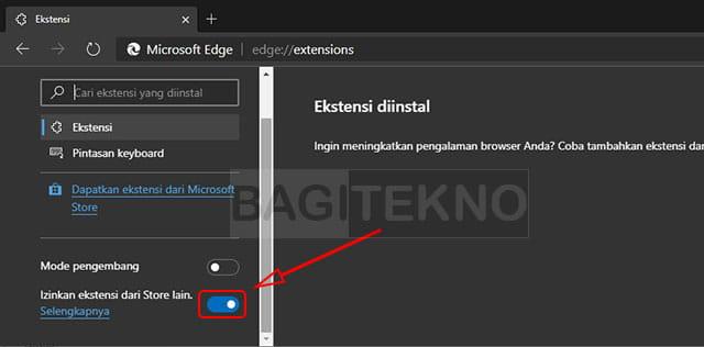 Cara menginstall ekstensi Chrome di Microsoft Edge