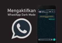 Cara mengaktifkan dark mode WA di Android