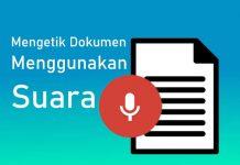 Cara mengetik dokumen di Word menggunakan Suara