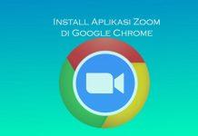 Cara install zoom di browser Google Chrome