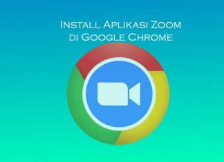 Cara install zoom di browser Google Chrome