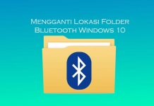 Cara mengubah lokasi folder Bluetooth di Windows 10, Windows 8.1, dan Windows 7