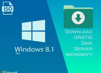 Cara download Windows 8.1 GRATIS dari Server Microsoft