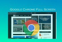 Cara membuat Google Chrome menjadi full screen