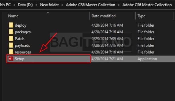 Setup Adobe CS6 master collection
